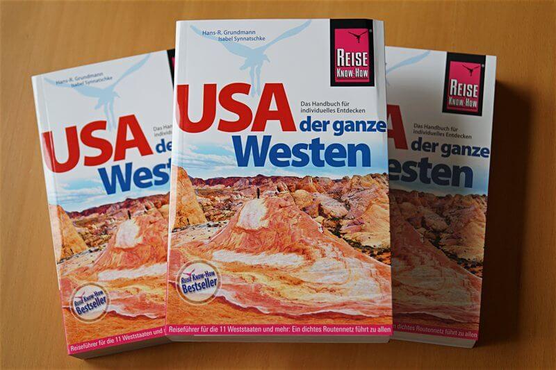 """Reiseführer """"USA – der ganze Westen"""", Reise-Know-How-Verlag"""