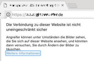 https / SSL Mixed-Content-Warnung