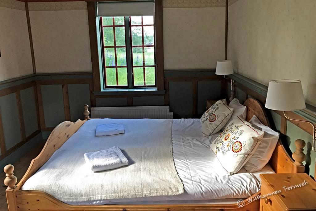 Unser Zimmer in der Lodge, Torsby