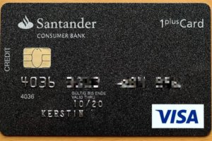 Santander 1plus Visa Kreditkarte