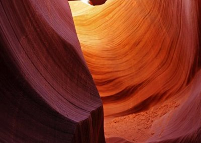 im Lower Antelope Canyon, USA