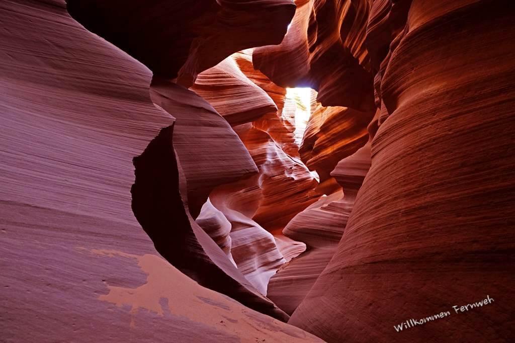 Durch den Slot Canyon muss man sich durchschlängeln – Lower Antelope Canyon, USA