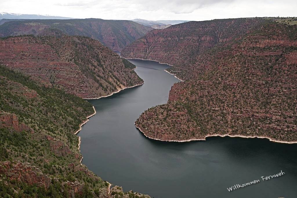 Der Red Canyon in der Flaming Gorge National Recreation Area