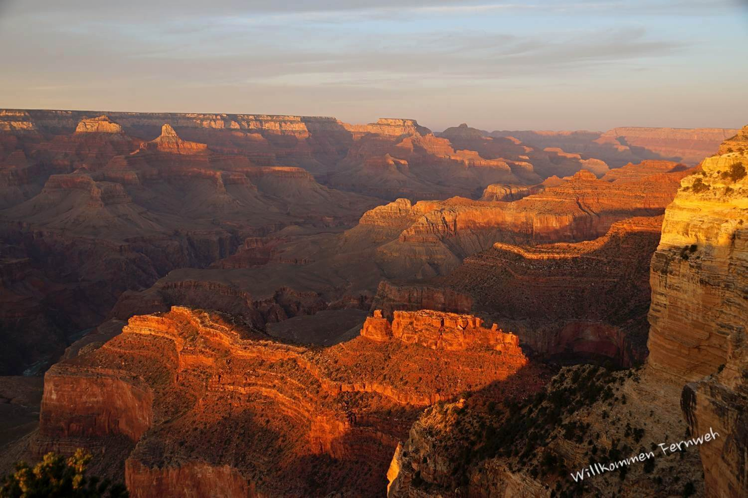 Sonnenuntergang am Hopi Point, Grand Canyon National Park