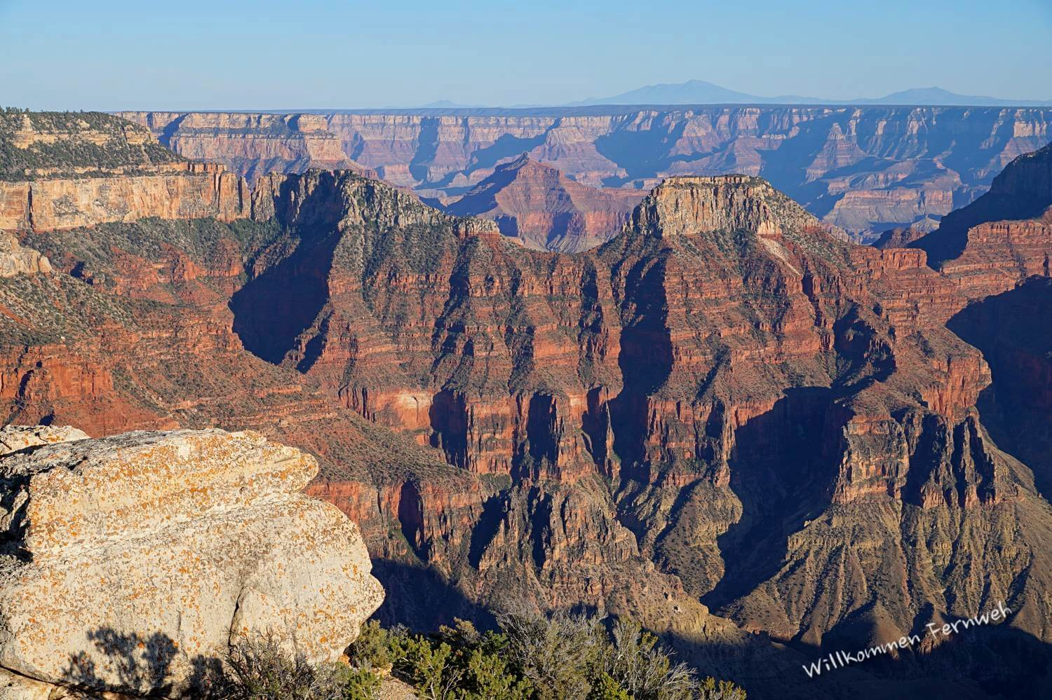Blick vom Brightangel Point im Grand Canyon North Rim