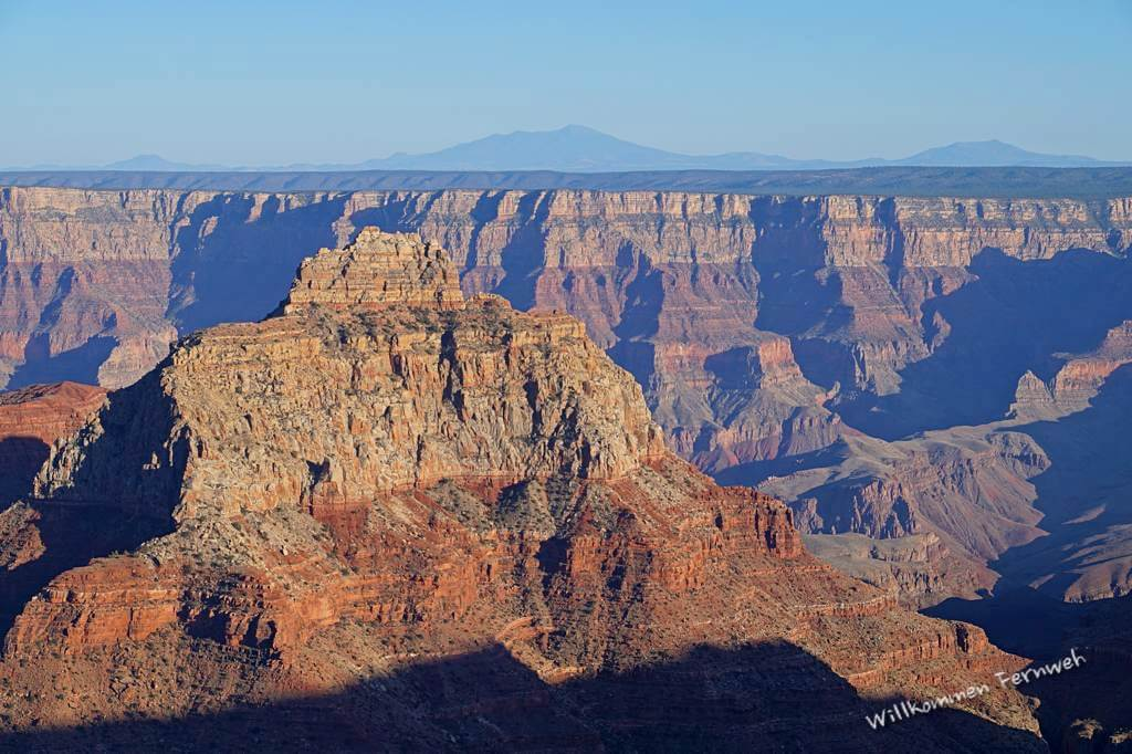 Vishnu Temple vom Cape Royal aus, Grand Canyon North Rim