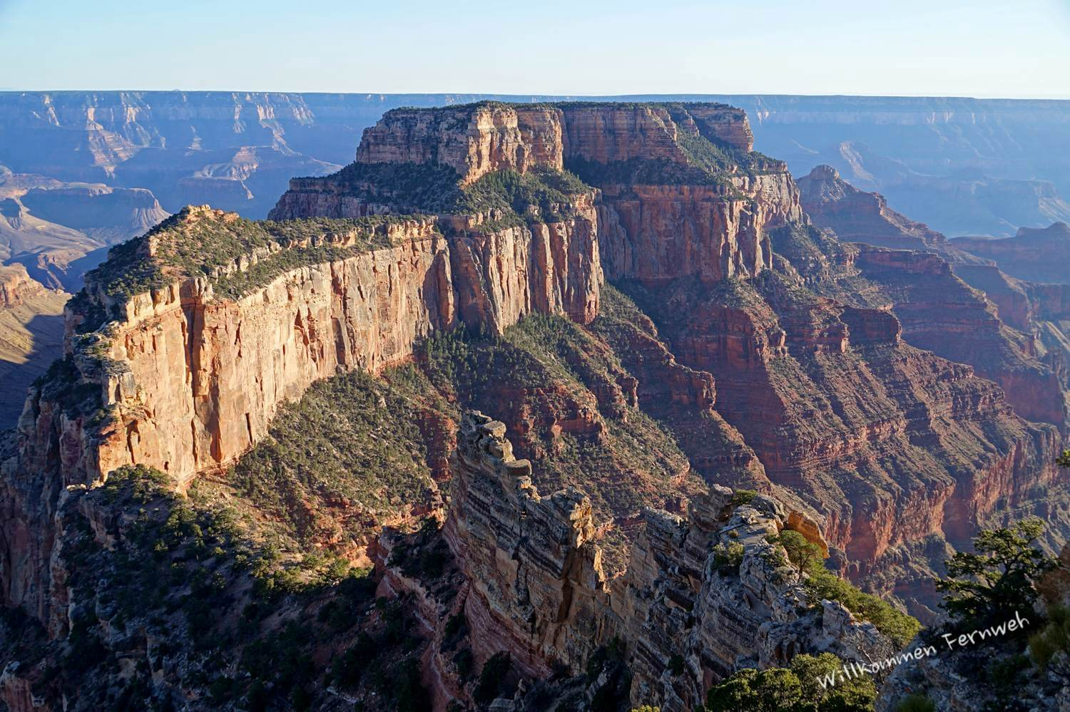 Wotan's Throne vom Cape Royal aus, Grand Canyon North Rim