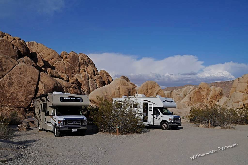 Reiseblogger-Treffen im Joshua Tree Nationalpark (Indian Cove Campground)