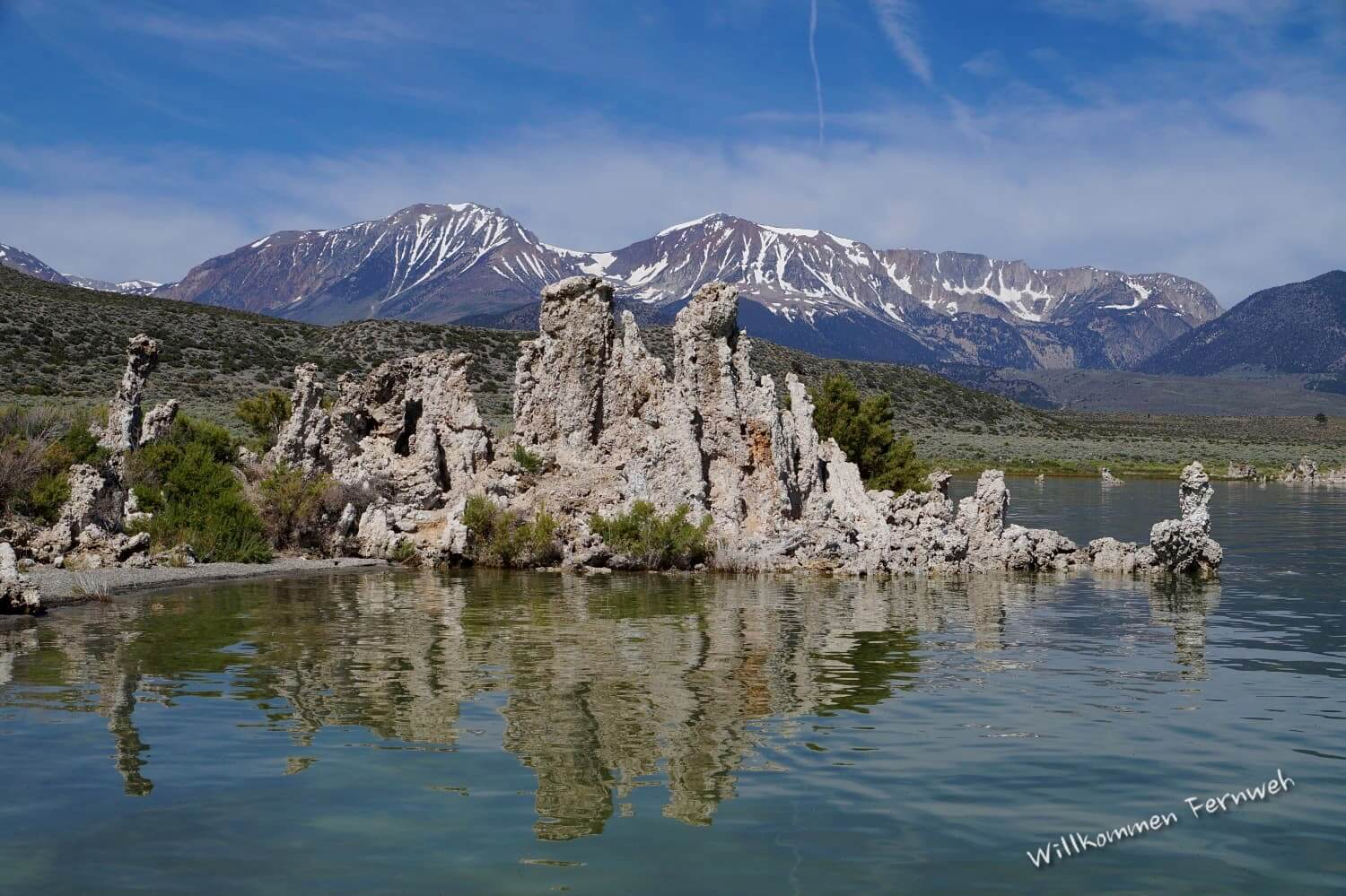Tufa-Formationen am Mono Lake, Kalifornien