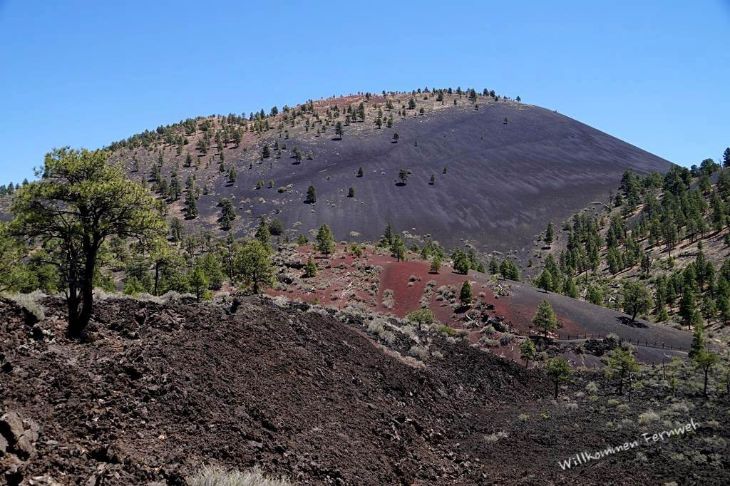 Lava und Asche am Sunset Crater National Monument
