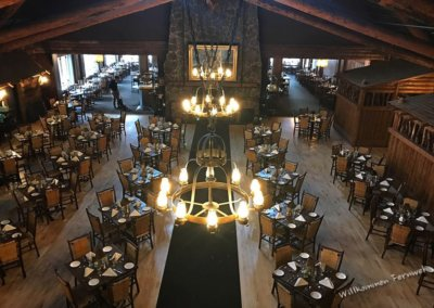 Der Dining Room im Old Faithful Inn