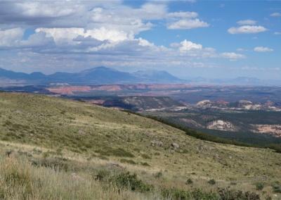 Aussicht von den Boulder Mountains, Utah
