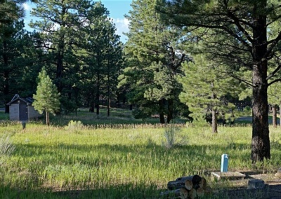 Singletree Campground in den Boulder Mountains