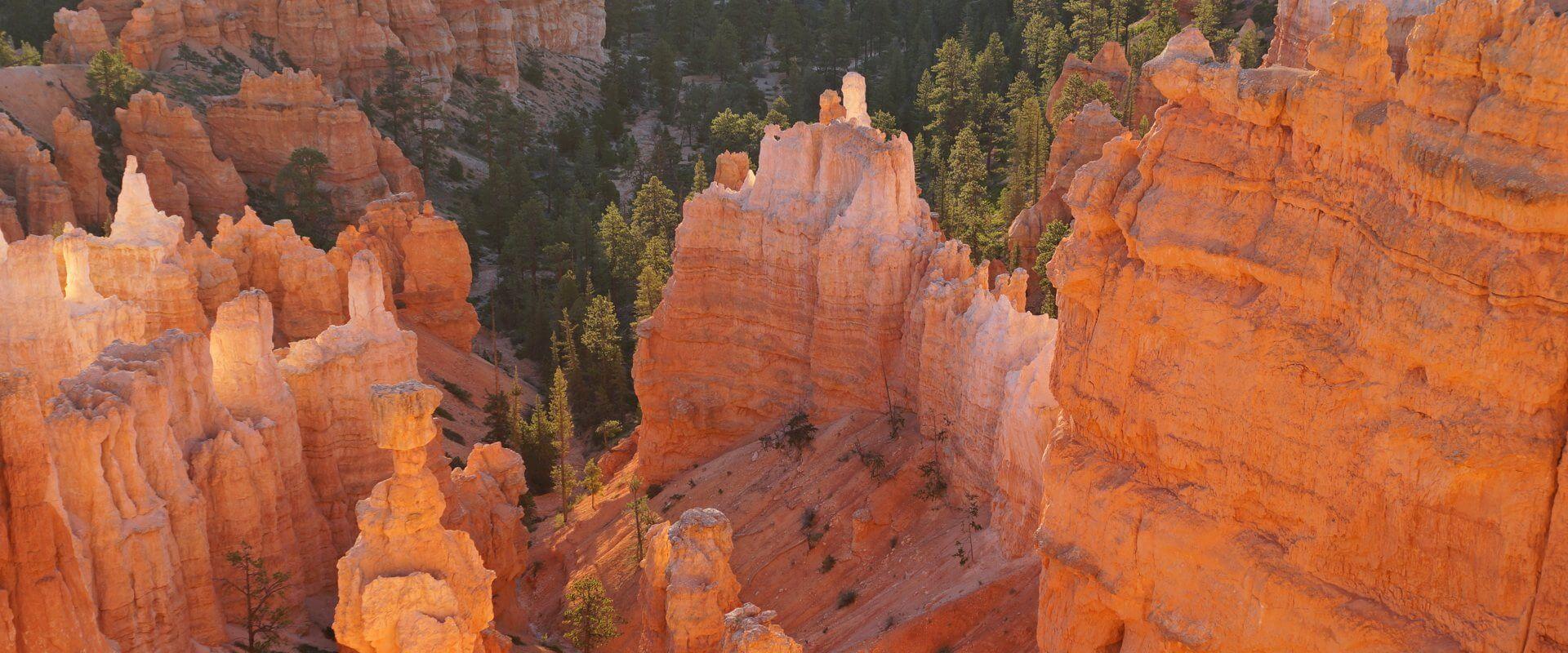 Eine zauberhafte Welt – Sonnenuntergang am Bryce Canyon