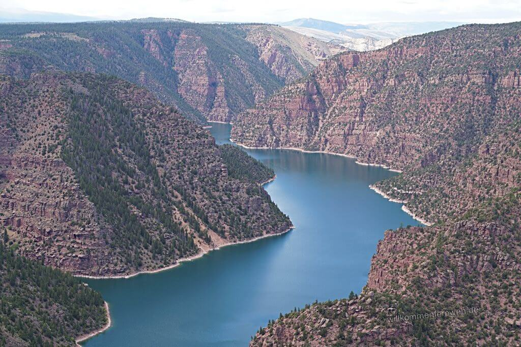 Red Canyon am Flaming Gorge, Utah