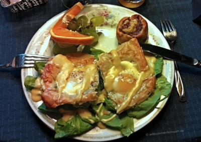 Frühstück im Mountain Top B&B