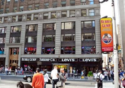 Bubba Gump am Times Square, New York