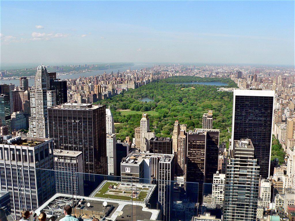 Central Park vom Top of the Rocks aus