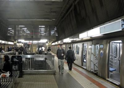 U-Bahnstation JFK, New York