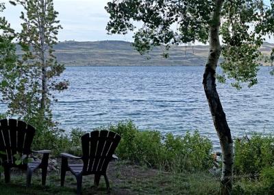 Eigener Zugang zum See