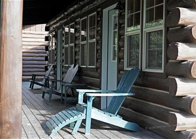 Veranda der Cabin