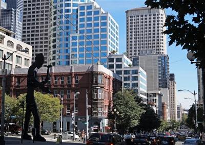 Innenstadt von Seattle