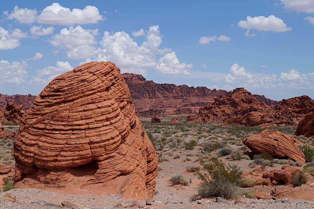 Beehive Rock, Valley of Fire