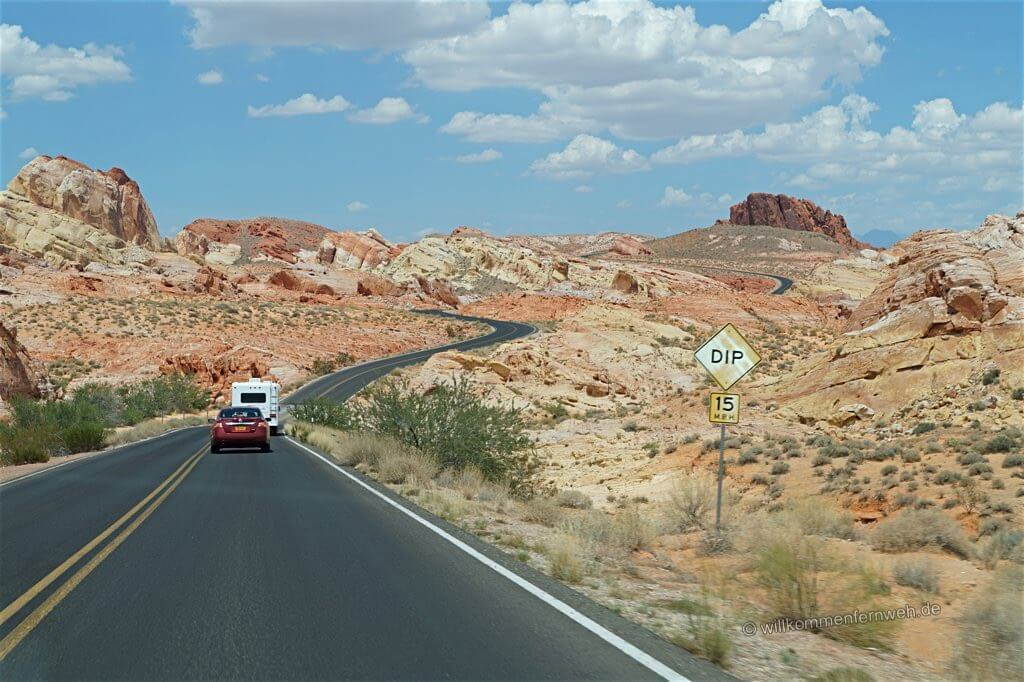 Roadtrip durch das Valley of Fire, USA