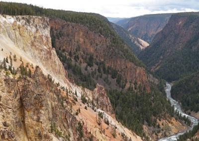 Blick zur anderen Seite des Canyons