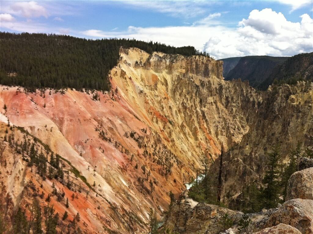 Farbenspiel, Grand Canyon of the Yellowstone