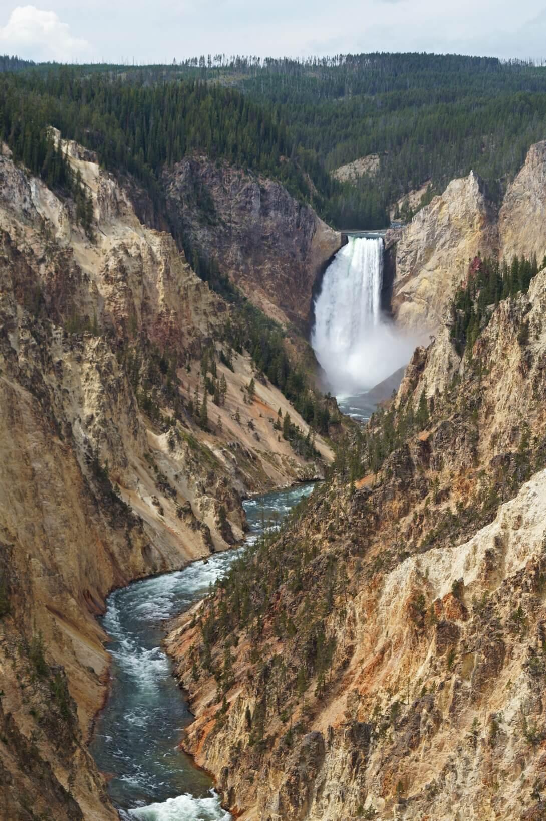 Grand Canyon mit Lower Falls