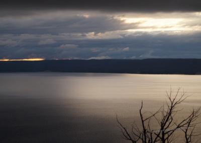 Blick auf den Yellowstone Lake