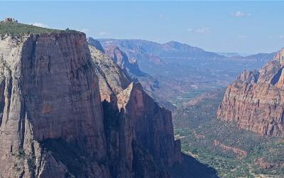 Eine besondere Wanderung in den Weststaaten: Zion Observation Point