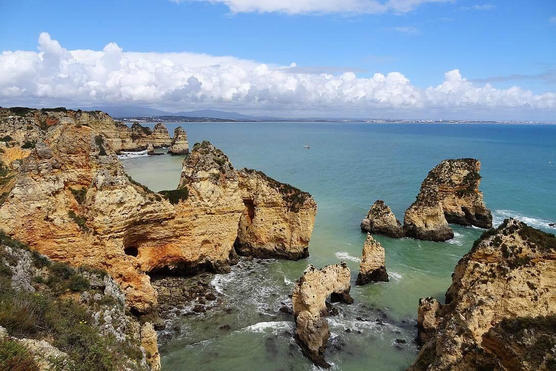 Algarve, Portugal: Ponta da Piedade (reiseblitz.com)