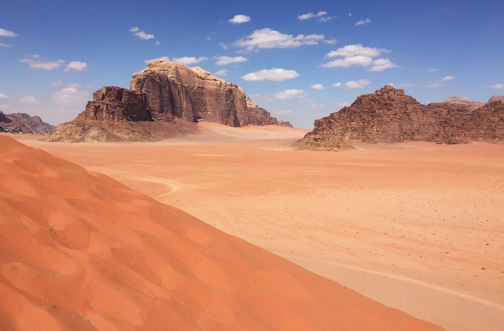 Wadi Rum, Roadtrip Jordanien